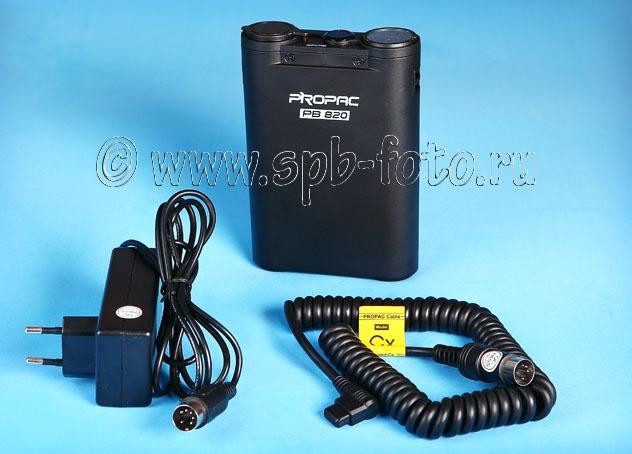 Внешний батарейный блок Propac PB-820 для вспышек Canon