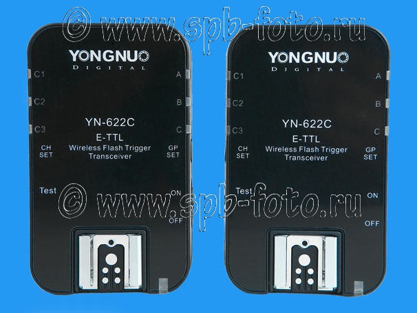 E-TTL радио синхронизатор для вспышек Canon, Yongnuo YN-622C, цена 3800 рублей