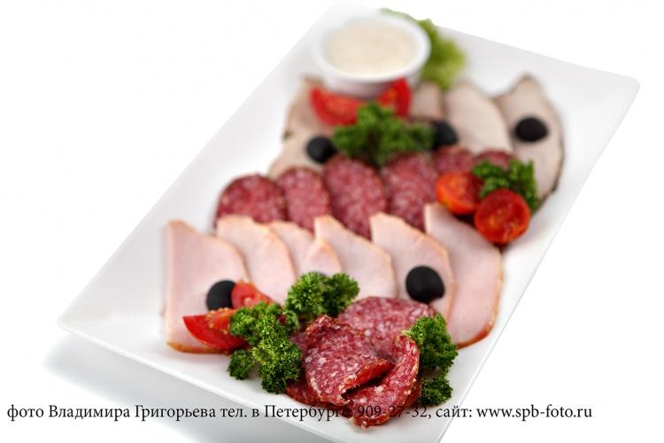 Фотосъемка готовых блюд для меню ресторана в Санкт-Петербурге