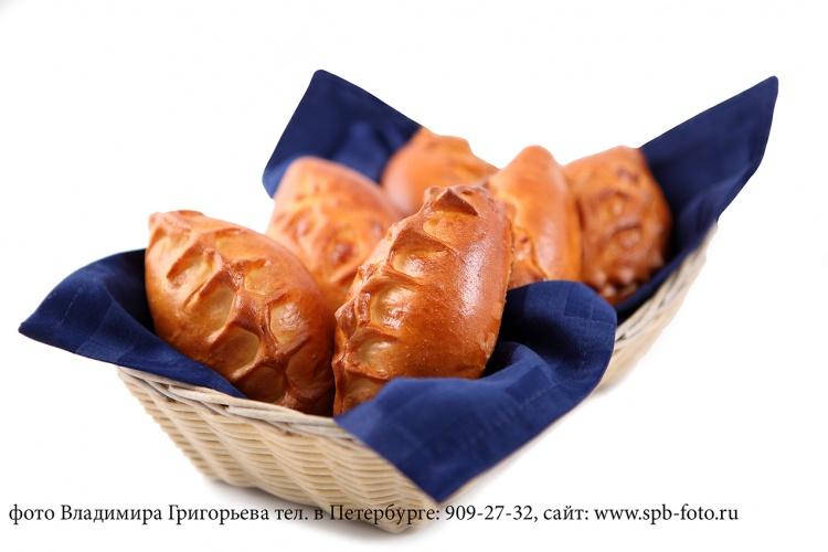 Хлебная корзина, фотография для меню, заказ фотосъемки блюд, т