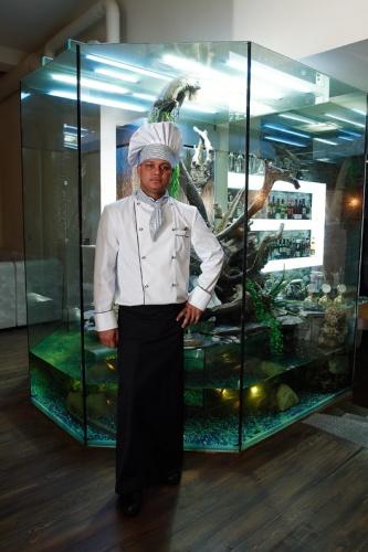 Фото повара рыбного ресторана