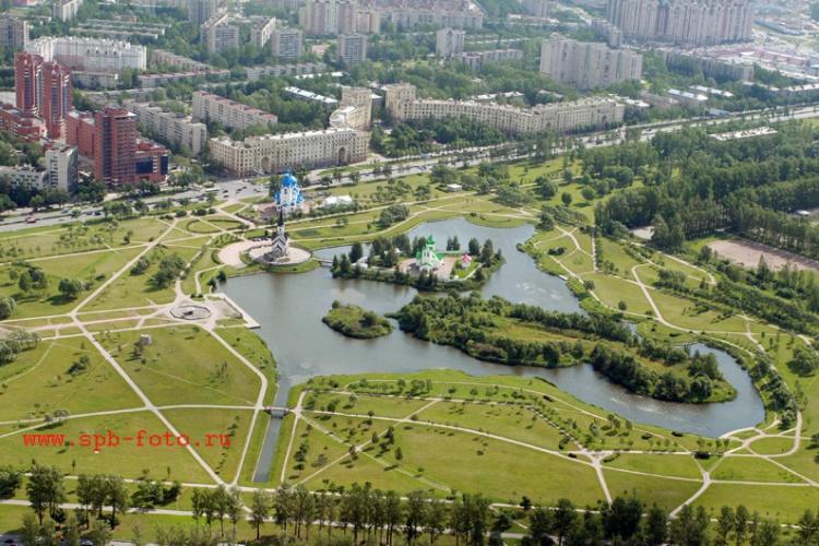 Парк Городов Героев, Санкт-Петербург, фото