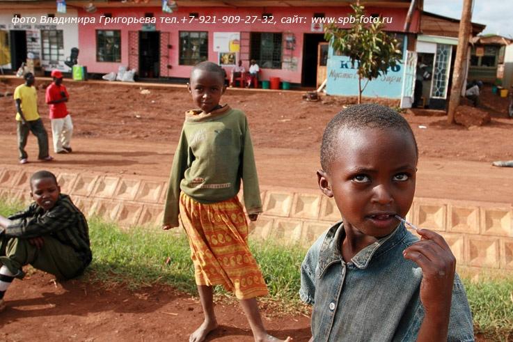 Танзания, дети