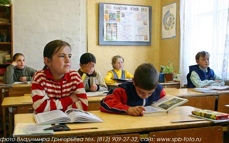 Школа в Тверской области, фото